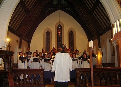 """Nine Lessons and Carols"": St-Michael's - Déc. 2007"